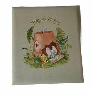 1976 Hallmark Cheddar & Co Scrapbook Photo Album